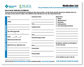 medication reconciliation hqca